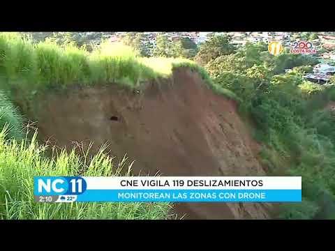 CNE vigila 119 deslizamientos ante inicio de época lluviosa