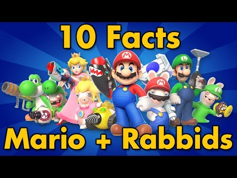 connectYoutube - 10 Facts | Mario + Rabbids Kingdom Battle