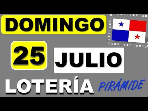 Piramide Suerte Decenas Para Domingo 25 de Julio 2021 Loteria Nacional Panama Dominical Comprar