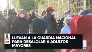 Abuelitos en Cholula, Puebla, se quedan sin vacuna anticovid por falta de dosis