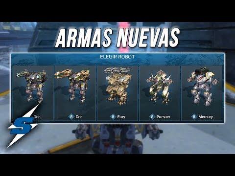 ARMAS QUE SE VIENEN en PRÓXIMAS ACTUALIZACIONES | SORILOKO War Robots