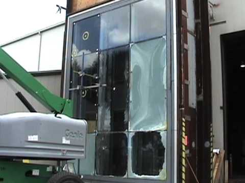 Pilkington PlanarTM Structural Glass Hurricane Impact Testing by W&W Glass