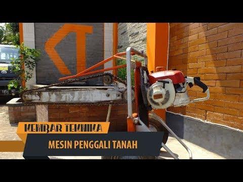 Mesin Penggali Tanah | Pengebor Tanah