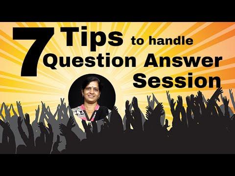 7 Tips to Handle Question Answer Session | Presentation skills by Jyoti Kulshreshth