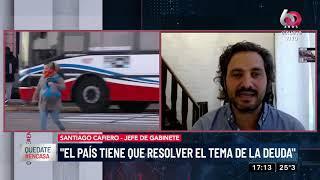 Santiago Cafiero: El Presidente tomó el camino adecuado para cuidar la vida