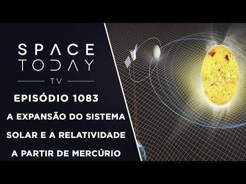A Expansão do Sistema Solar e a Relatividade A Partir de Mercúrio - Space Today TV Ep.1083