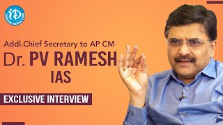Addl Chief Secretary to AP CM Dr PV Ramesh IAS Exclusive Interview | Dil Se with Anjali #229 - IDREAMMOVIES