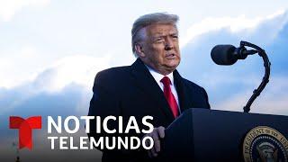 Latinos pro-Trump defienden al expresidente tras el asalto al Capitolio   Noticias Telemundo