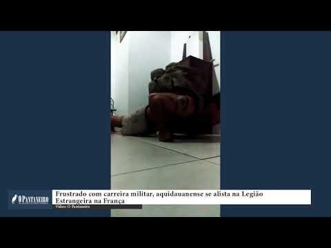 Frustrado com carreira militar, aquidauanense se alista na Legião Estrangeira na França