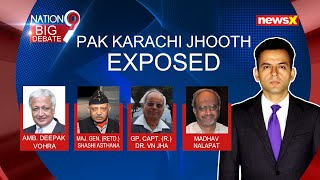 Watch #PakKarachiJhooth exposed on NewsX | NewsX - NEWSXLIVE