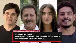PBO 2020 -ESTADO PAGÓ S/126 MLLNS A PRINCIPALES MEDIOS POR PASAR PUBLICIDAD ESTATAL: RPP, CANAL N...