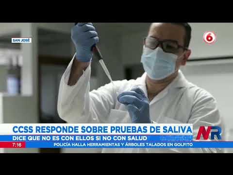 CCSS responde sobre pruebas de saliva para detectar Covid 19: No es con ellos sino con Salud