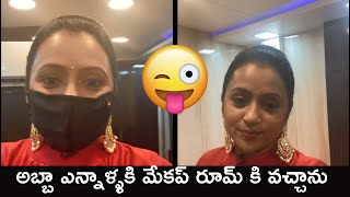 Anchor Suma Kanakala Gives Precautions To Movie Artists | Anchor Suma At shooting Location - RAJSHRITELUGU