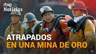 CHINA: Localizan CON VIDA a 12 de los 22 MINEROS ATRAPADOS tras un derrumbe | RTVE Noticias
