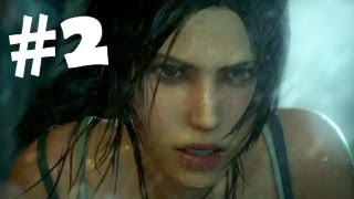 Tomb Raider Walkthrough Part 2 Gameplay Review Lets Play [HD] PC/PS3/XBOX 360