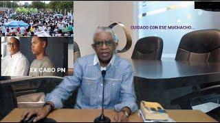 CUIDADO CON CABO PN que se manifestó en Plaza de la Bandera….