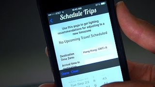App for beating jet lag takes off