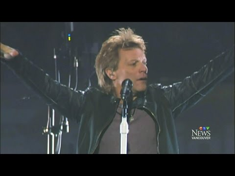 Shot through the heart: B.C. Bon Jovi concert cancelled
