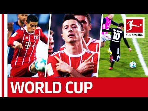 James, Hazard, Lewandowski & Co. - Bundesliga's Global Stars at the 2018 World Cup in Russia