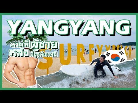 หาดที่ผู้ชายหล่อที่สุดในเกาหลี