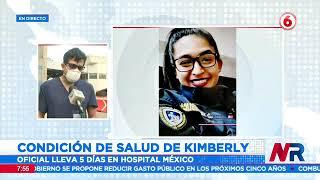 Reportan estable la condición se salud de la policía herida de bala en la cabeza
