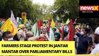 Farmers Stage Protests At Jantar Mantar   Demonstrations Amid High Security   NewsX - NEWSXLIVE