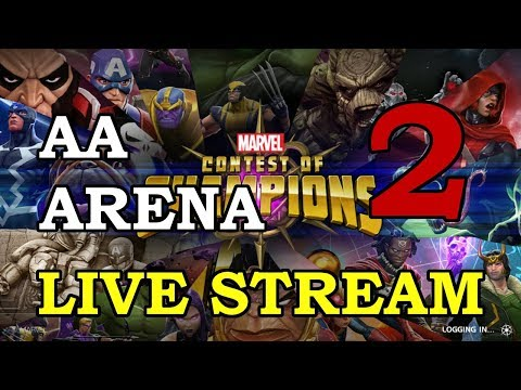 connectYoutube - Archangel Arena - Part 2   Marvel Contest of Champions Live Stream