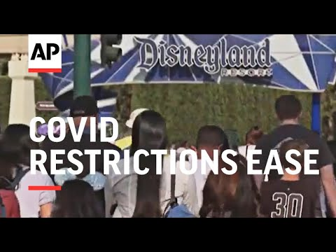 Californians celebrate as COVID restrictions ease