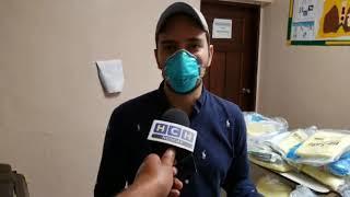 Miembros de la #CCILEC donan kits de bioseguridad a personal de Centro de Salud de la Entrada, Copán