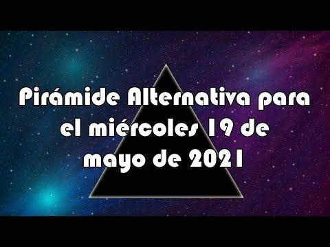 Lotería de Panamá - Pirámide Alternativa para el miércoles 19 de mayo de 2021
