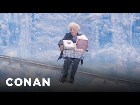 connectYoutube - Introducing: Acorn's Cross-Country Stair Lift  - CONAN on TBS
