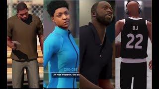 NBA2K MyCareer Opening Cutscene Through the Years (NBA 2K14 - NBA 2K18)