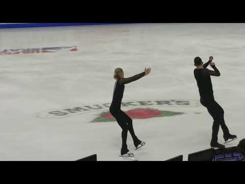 Ashley Cain & Timothy LeDuc - 2018 U.S. Nationals, Pairs' Short Program
