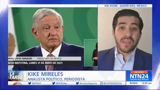 Entrevista a Kike Mirales, analista político y periodista