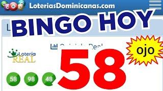 RESULTADOS de HOY...!! (( 58 )) BINGO hoy..! loteria REAL de HOY..! NÚMEROS PARA HOY...!! BINGO HOY