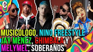 Chimbala, Nino Freestyle, Melymel, Musicólogo y Jay Menez juntos en Premio Soberano 2021