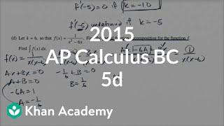 2015 AP Calculus BC 5d