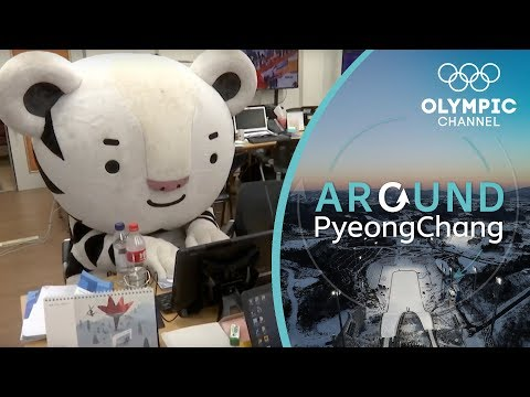 Being Soohorang, the Mascot of the Winter Olympics | Around PyeongChang