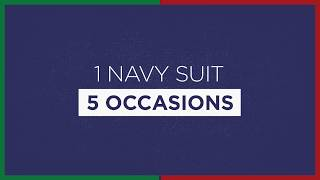 Mens Style Tips: 5 Ways to style a Navy Blue Suit