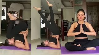 Actress Sony Charishta Yoga Video | International Yoga Day | TFPC - TFPC