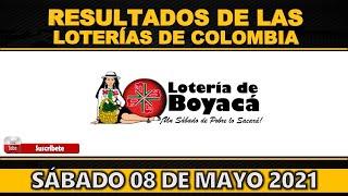 Resultados Lotería de BOYACÁ sábado 8 de mayo 2021 | PREMIO MAYOR ? ???? ????????