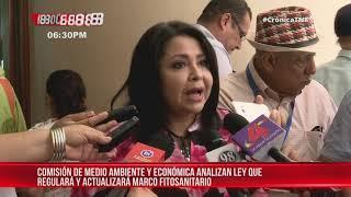 Asamblea Nacional consulta Ley de Protección Fitosanitaria de Nicaragua