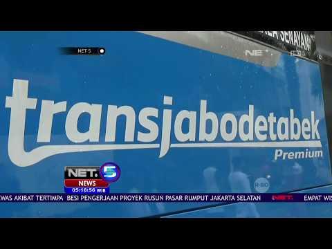 Kemenhub Turunkan Tarif Trans Jabodetabek Premium - NET 5