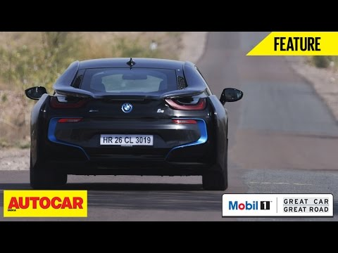 Mobil1 Presents Great Car Great Road | BMW i8 | Autocar India
