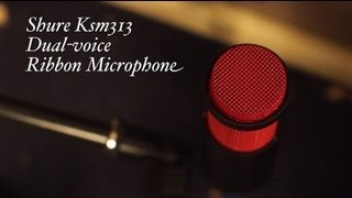 Shure KSM313 Dual-Voice Ribbon Microphone Review