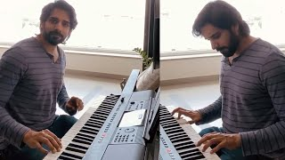 Hero Sushanth Playing Beautiful & Relaxing Piano | Sushanth Playing Piano Latest Video - RAJSHRITELUGU