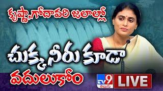 YS Sharmila Press Meet LIVE || Lotus Pond - TV9 - TV9