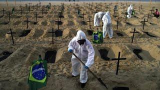 Covid-19 : le Brésil dépasse le seuil des 100 000 morts