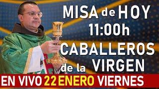 MISA De HOY En VIVO 11:00 - Viernes 22 de Enero - Escriba sus intenciones en el chat.