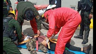 Hombre se quedó dormido en peligrosos lugar de Cochabamba
